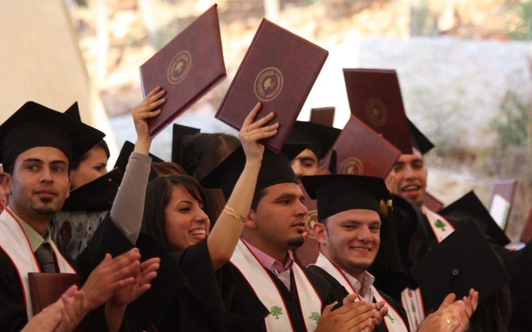 Birzeit University graduation