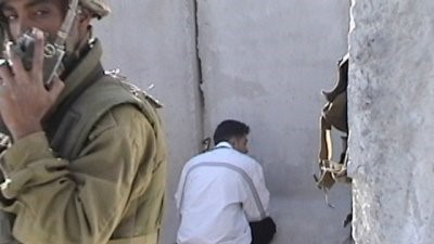 Palestinian man detained by Israeli soldier