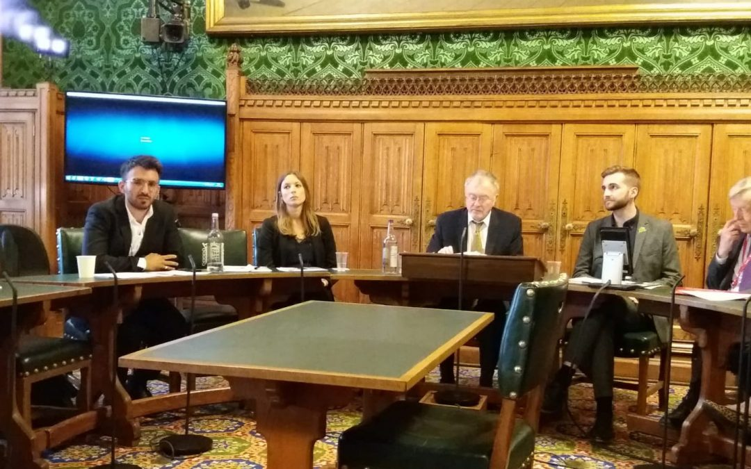 Fobzu Director speaks at Commons Nakba 70 event
