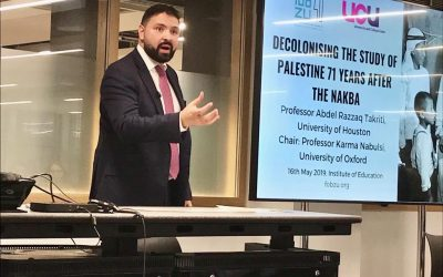 Prof Abdel Razzaq Takriti: Liberating the Study of Palestine
