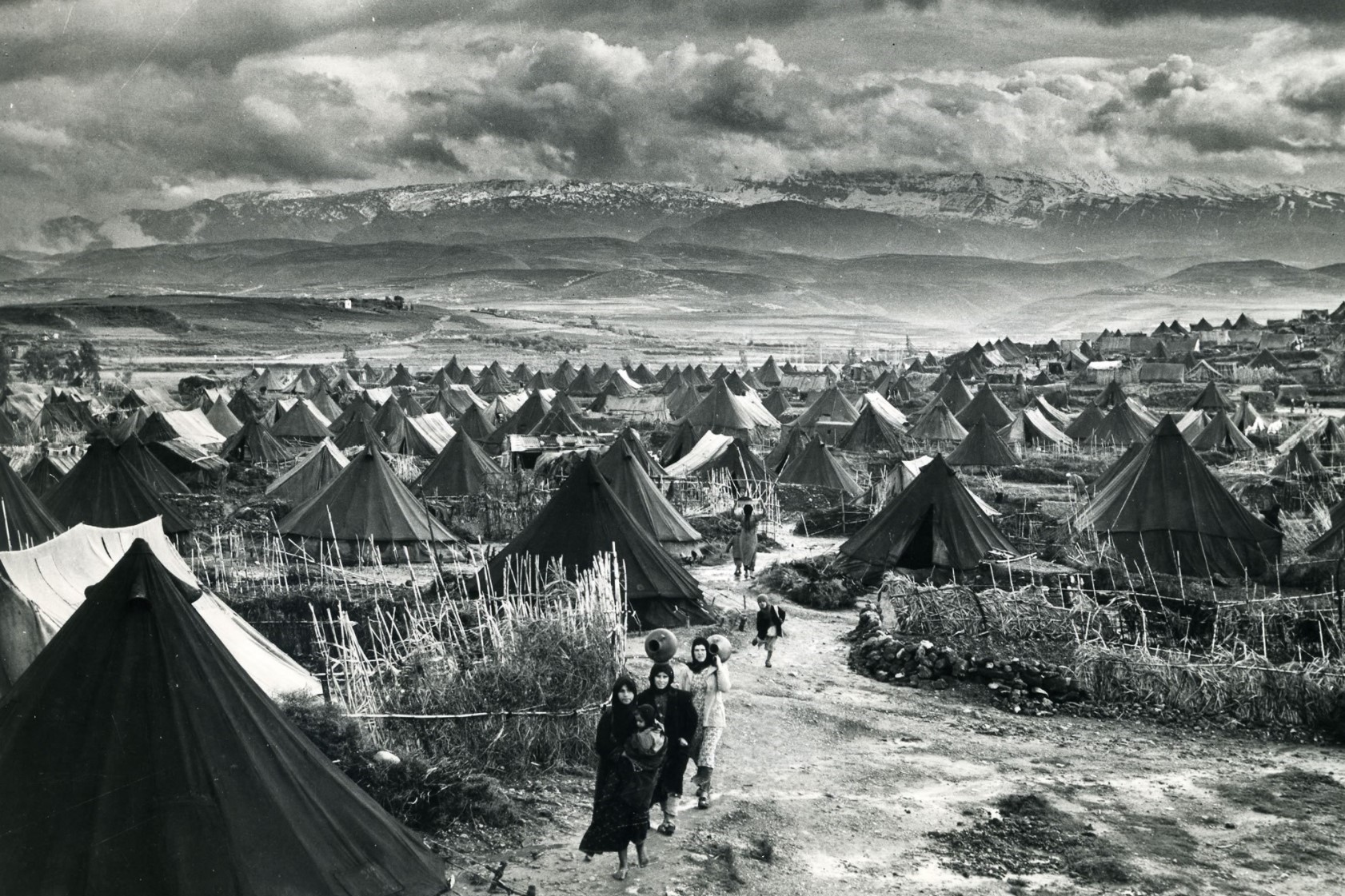 Palestinian refugee camp Nahr al Bared 1948
