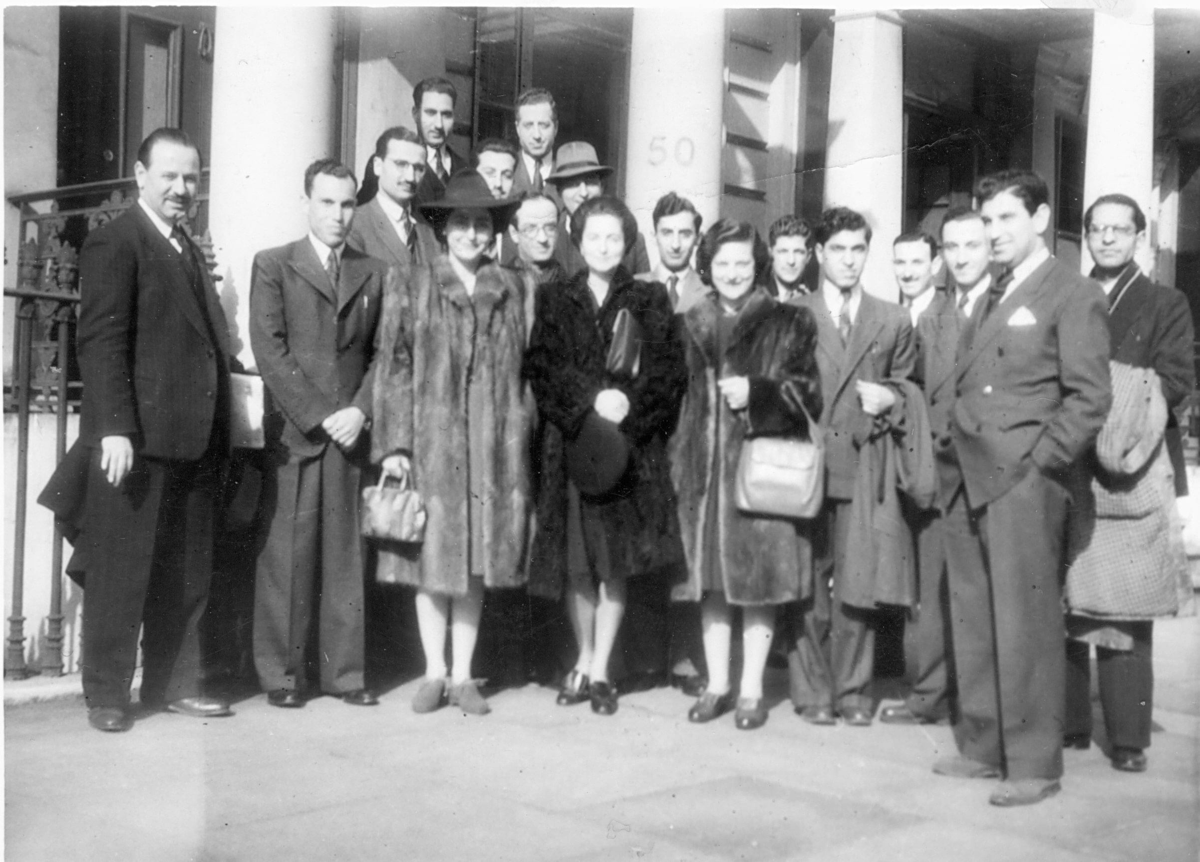 Group of Arab students 1946
